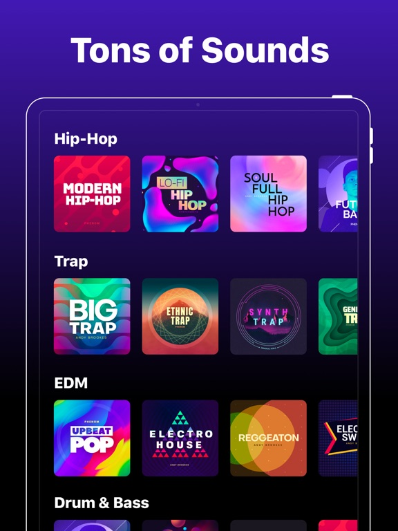Groovepad - Music & Beat Maker screenshot 6