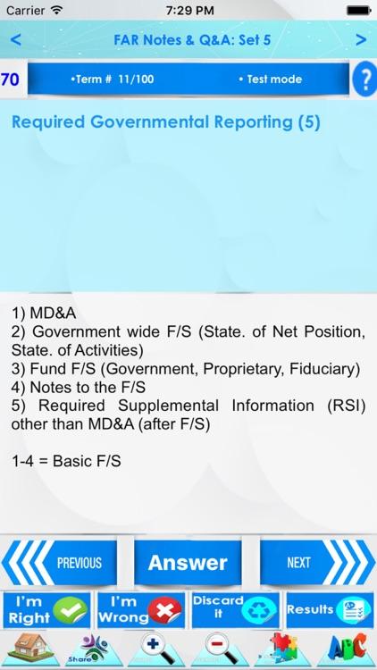 CPA FAR Exam Review 3200 Notes screenshot-3