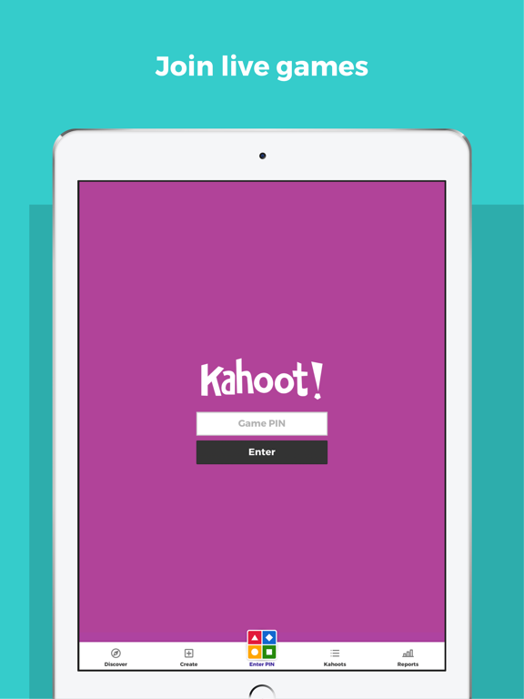 iPad Image of Kahoot! Play & Create Quizzes