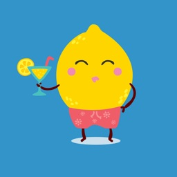 funny fruits emoji stickers 02
