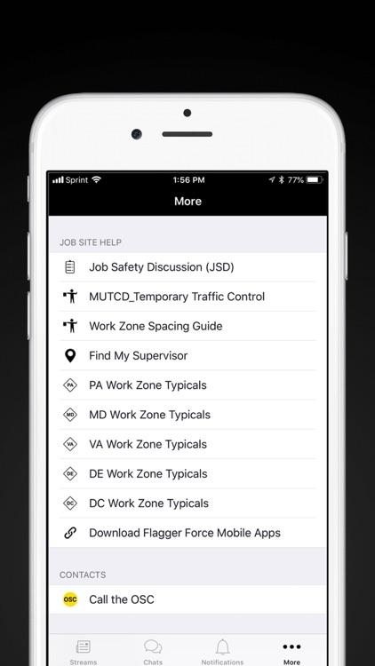 In The Zone (ITZ) by Traffic Control Services, LLC