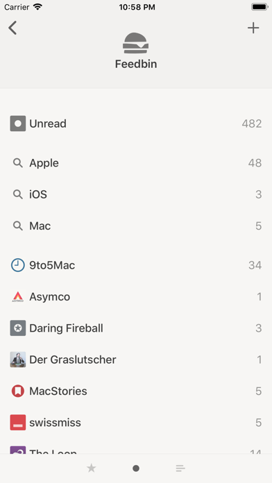 Reeder 4 Screenshot