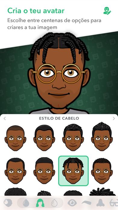 Screenshot for Bitmoji in Portugal App Store