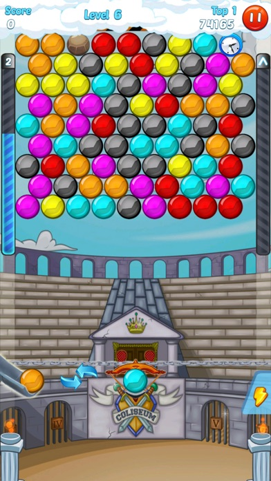 Screenshot of Bubble Shooter 3.0 World5