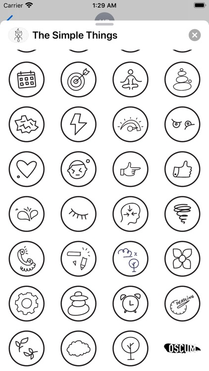 The Simple Things - Stickers screenshot-3