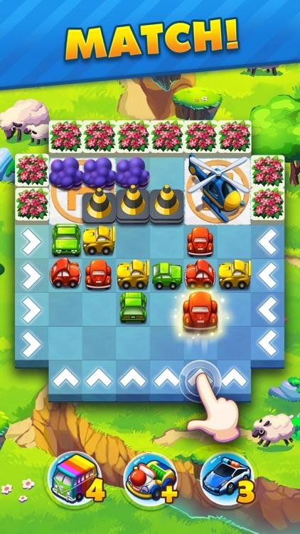 Traffic Puzzle - Match 3 Game screenshot-0