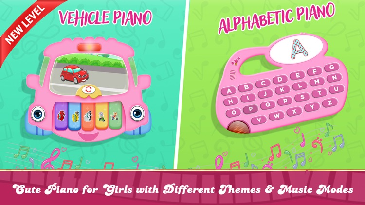 Girly Pink Piano Simulator screenshot-3