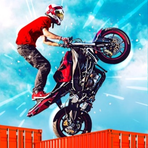 Dirt Bike Roof Top Racing Fun