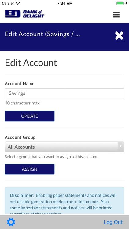 Bank of Delight Mobile Banking screenshot-8