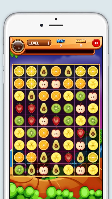 Smoothie Fruit : Match 3 Game