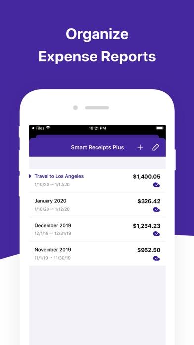 Smart Receipts Screenshot