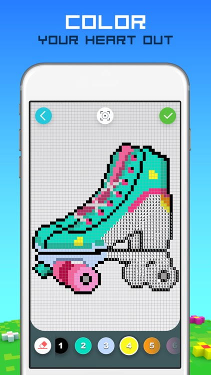RAINBOW Color by Number screenshot-3