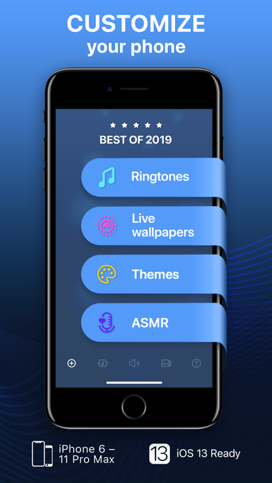 Screenshot for Ringtones for iPhone in Belgium App Store