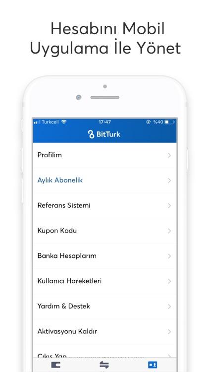 BitTurk - Bitcoin Al Sat screenshot-4