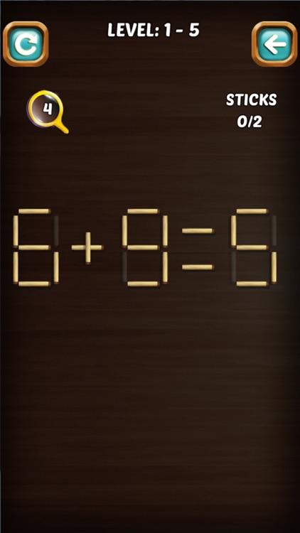 Math Match Stick Puzzle screenshot-5