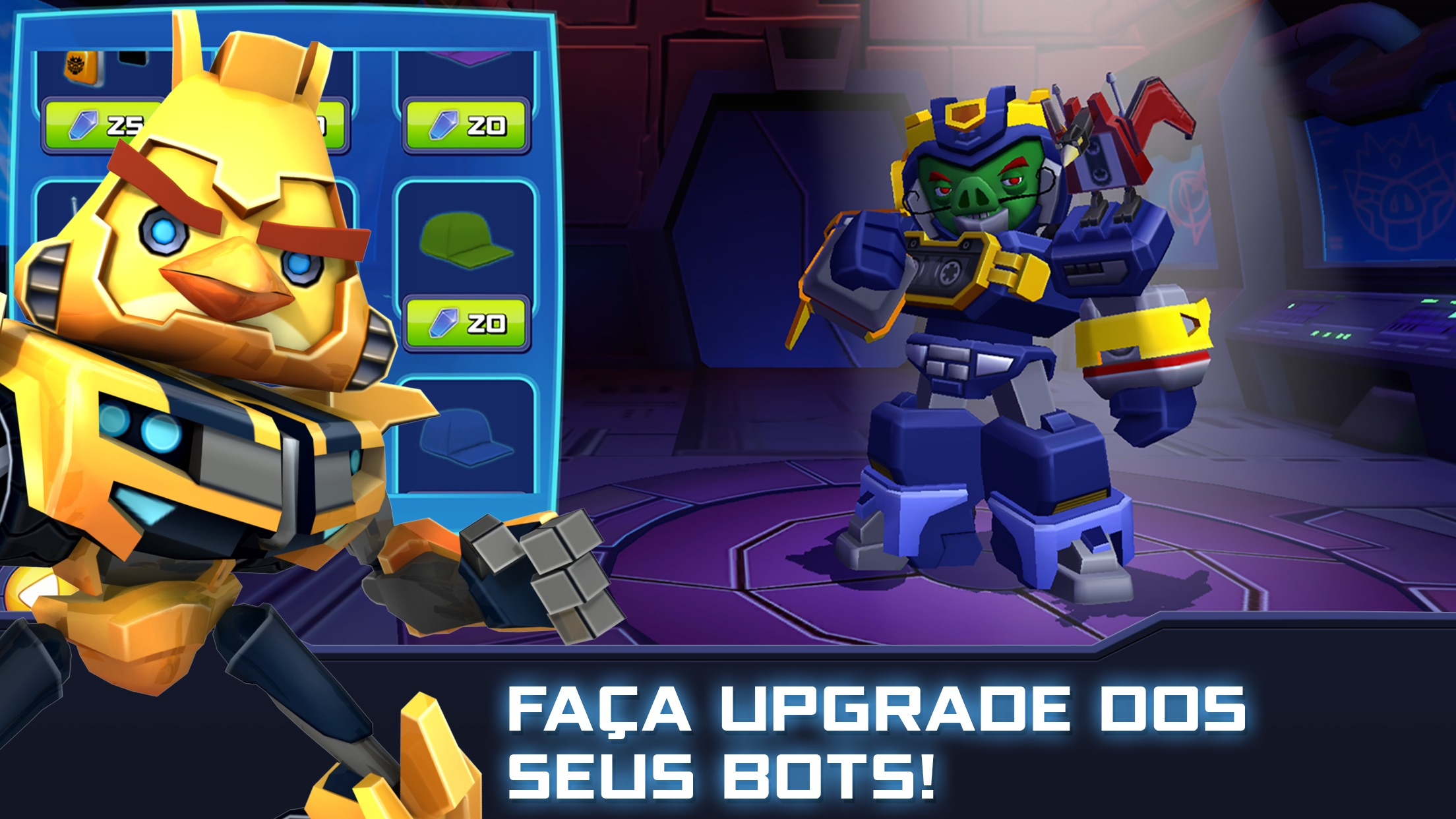 Screenshot do app Angry Birds Transformers