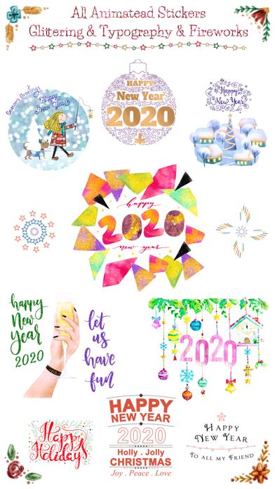 Happy New Year 2020 - Animated screenshot one