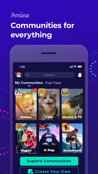 Amino - Communities, Chat, Forums, and Groups screenshot