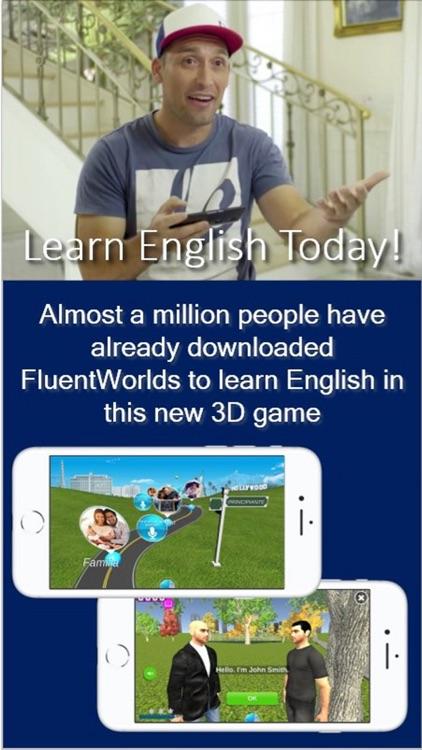 Learn English in FluentWorlds screenshot-0