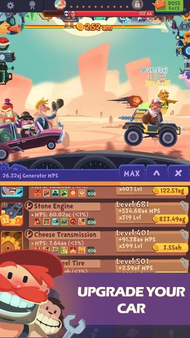 Clicker Racing Screenshot