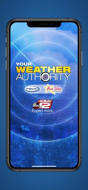KSAT 12 Weather Authority on the App Store