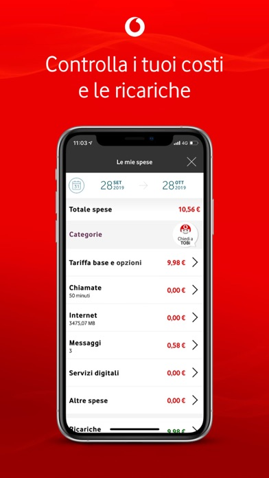 Screenshots for My Vodafone Italia