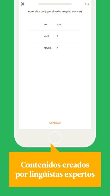 Babbel – Aprender portugués screenshot-3
