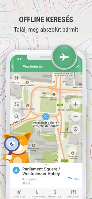 Maps Me Offline Terkepek Az App Store Ban