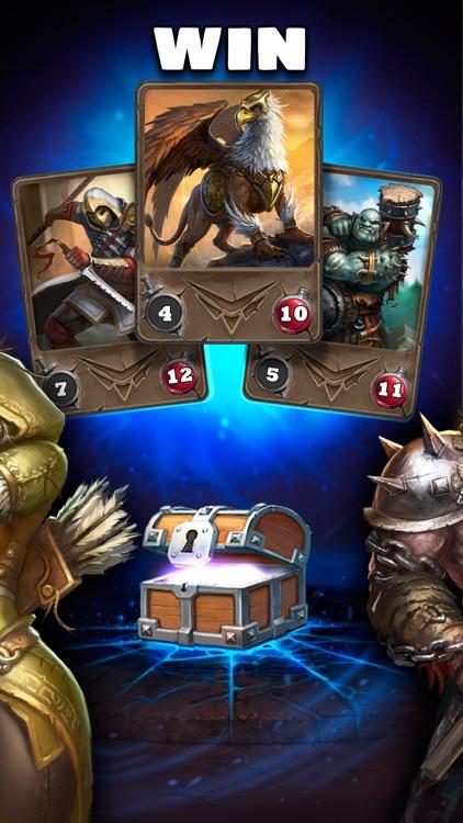 Card Heroes: Multiplayer Wars screenshot-3