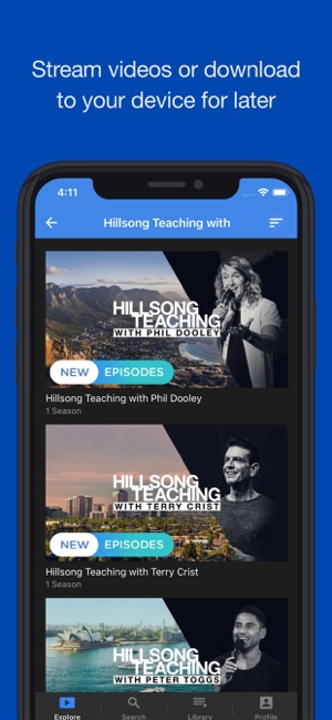 Hillsong Channel NOW on the App Store