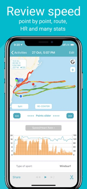 Waterspeed Sail, SUP, Surf GPS on the App Store