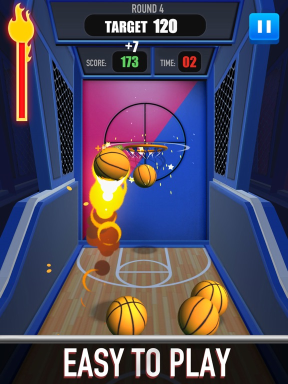 Score King-Basketball Games 3Dのおすすめ画像4