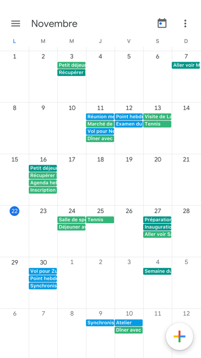 messages.download Google Agenda : organisez-vous software