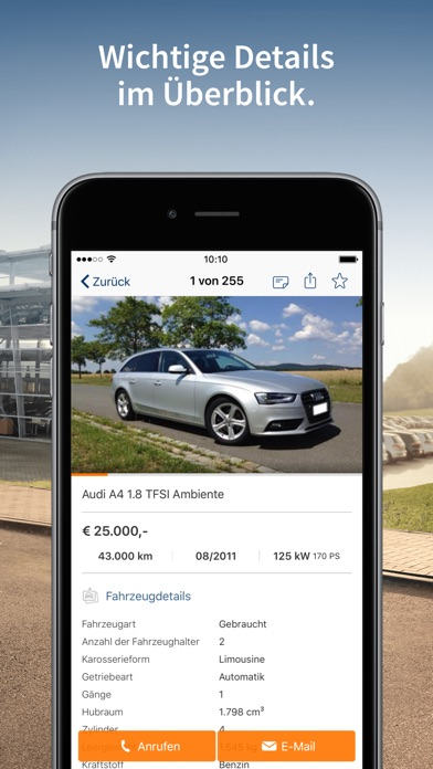 Screenshot for AutoScout24 Gebrauchtwagen App in Austria App Store