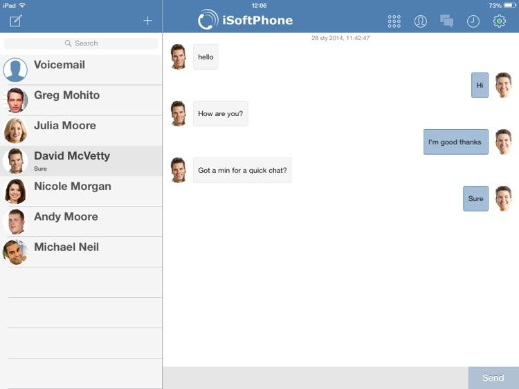 iSoftPhone for iPad screenshot-3