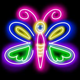 Doodle Art Fun - Neon Paint