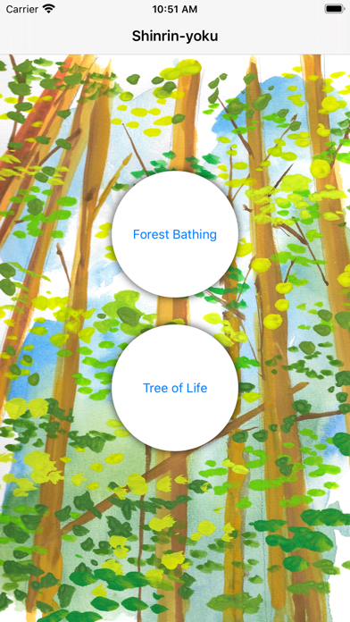 Shinrin-yoku - Forest Bathing screenshot 1