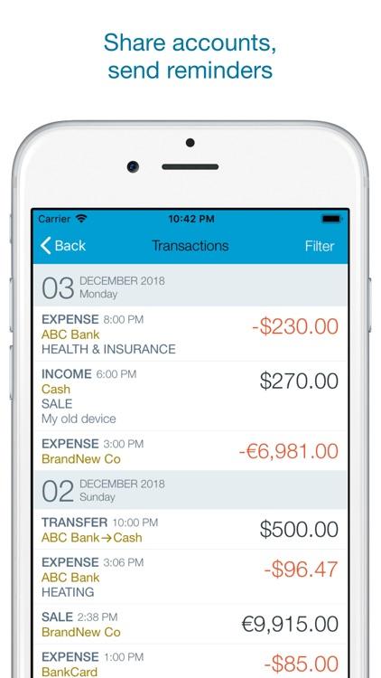 Account Book - Money Manager screenshot-4