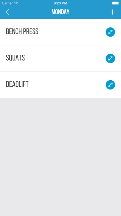 Gym List screenshot-1