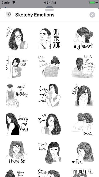 Sketchy Emotions
