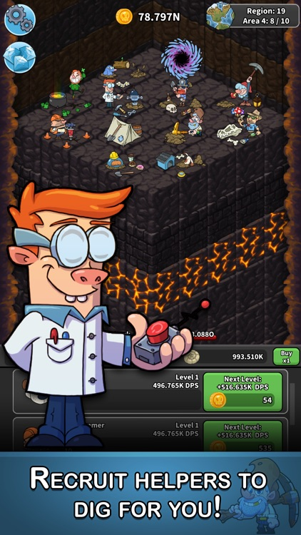 Tap Tap Dig - Idle Clicker screenshot-2