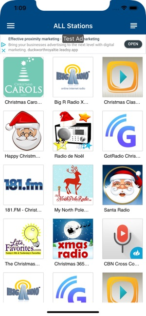 Xm Radio Christmas Station.Christmas Radio On The App Store