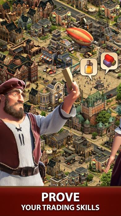 Forge of Empires: Build a City Screenshot