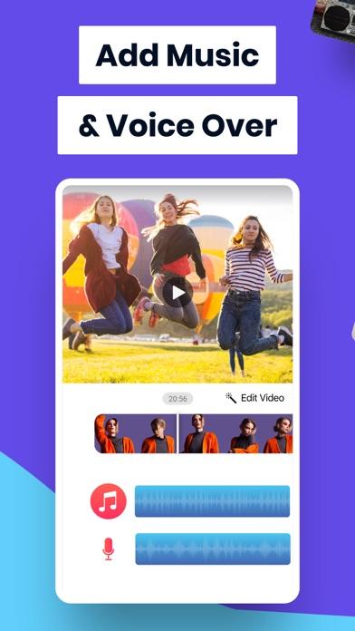Add Music To Video Editor Screenshot on iOS
