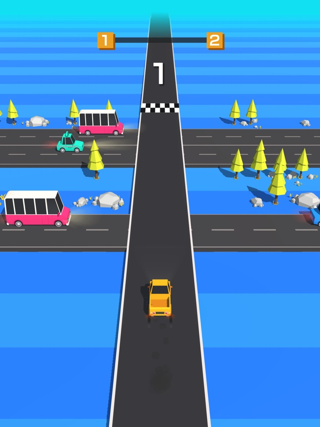 Traffic Run! Screenshot