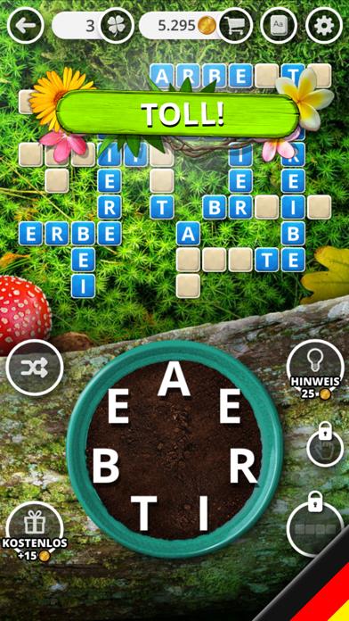 Herunterladen Garten der Wörter - Wortspiel für Android