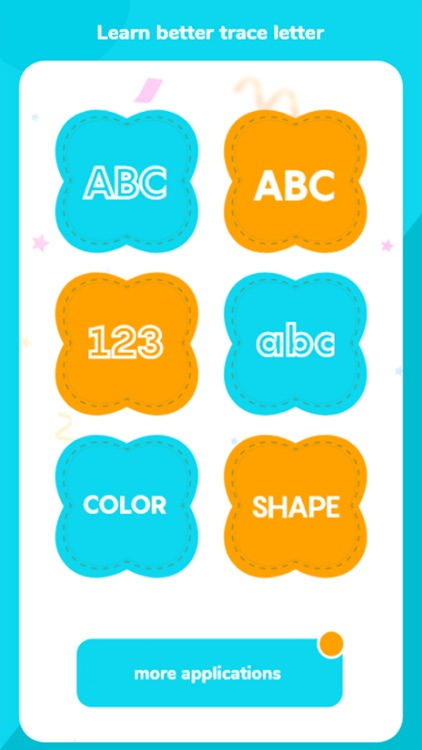 Alphabet Learning, 123 Numbers