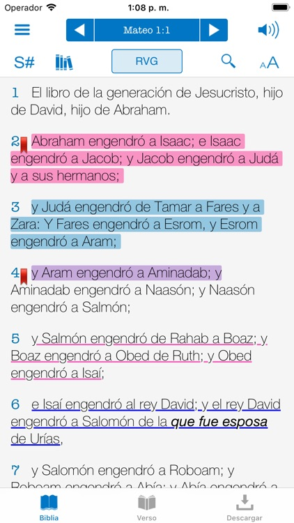 Biblia Reina Valera con Strong screenshot-3