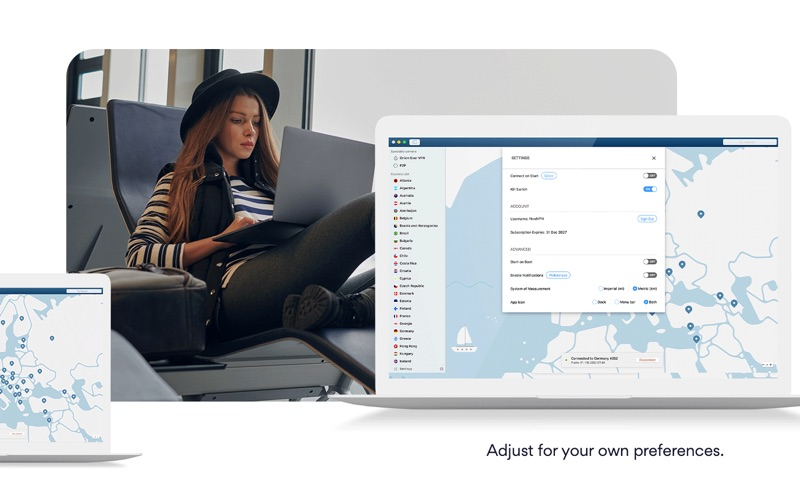 NordVPN IKE Screenshot