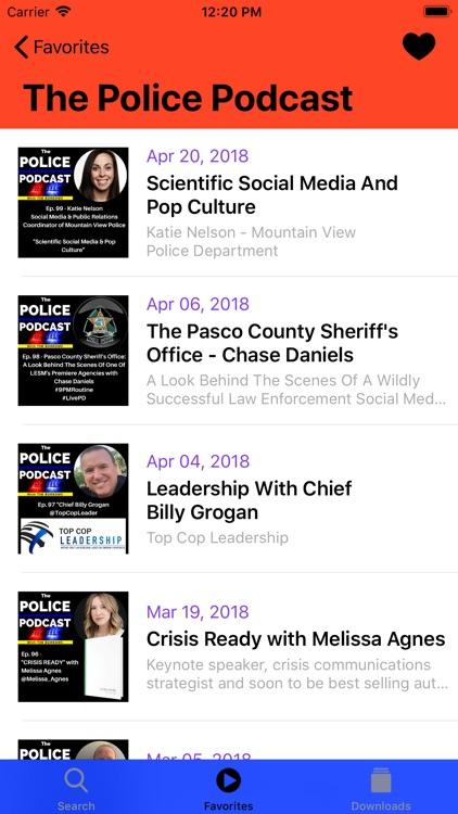 Police & Fire Radio Scanner screenshot-4